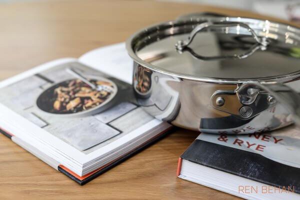 Ren Behan Reviews ProWare Stainless Steel Tri-ply cookware