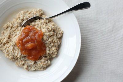 ProWare's Plum compote on Porridge