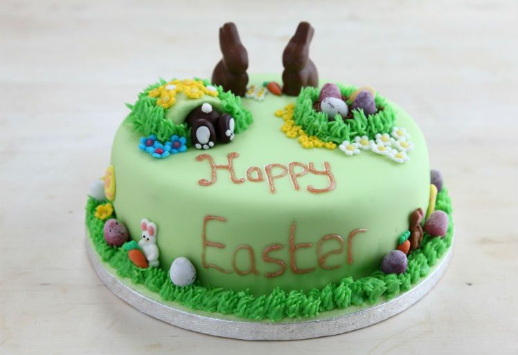 Happy Easter Cake by Hannah