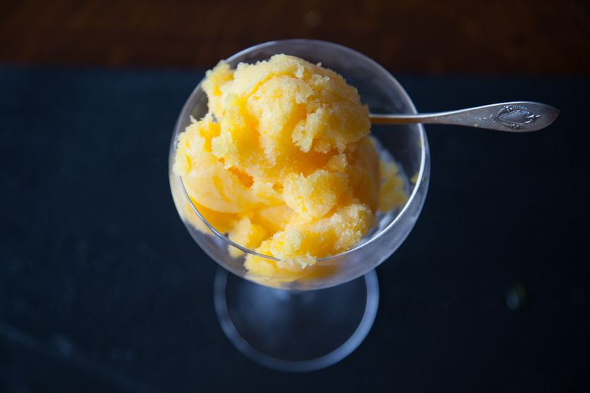 ProWare's Tangerine and Prosecco Sorbet Recipe