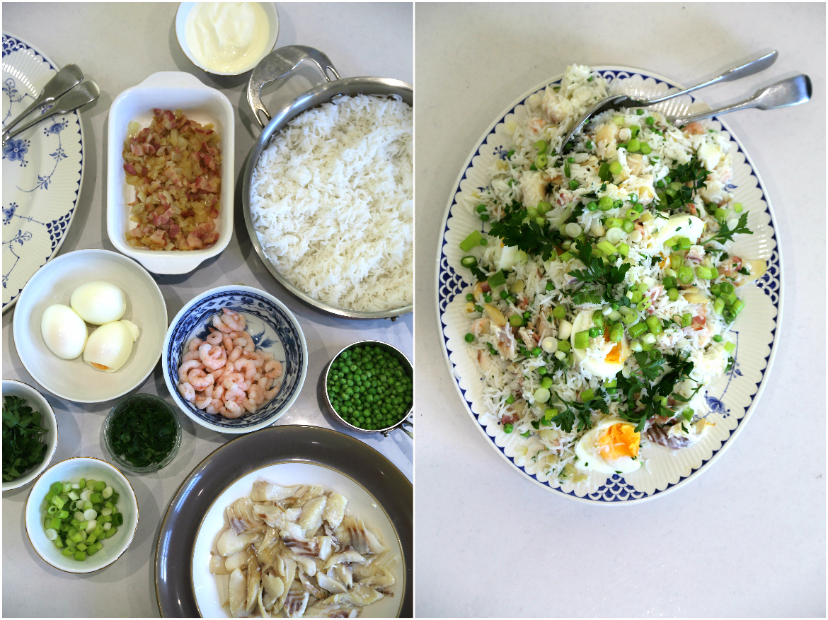 Collage of ProWare's Kedgeree