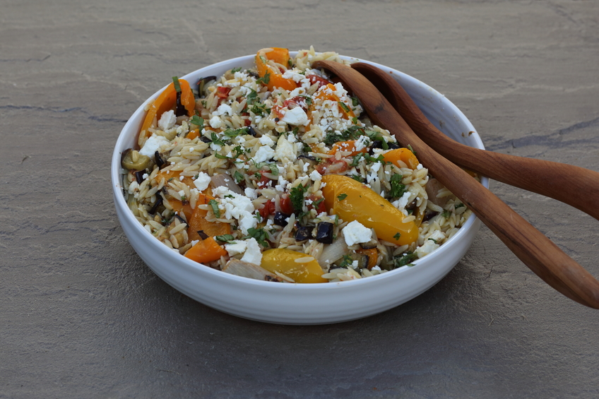 Image of ProWare's Roasted vegetable orzo