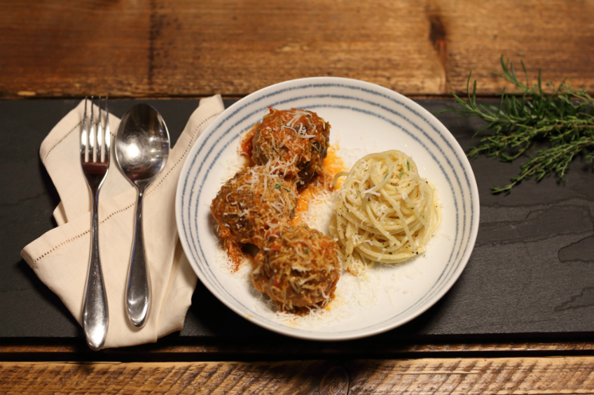 Photo of ProWare's Spaghetti and Meatballs Recipe for Wine Paring