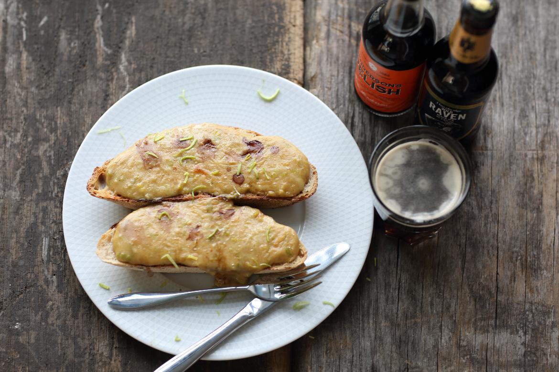 ProWare Kitchen's Welsh Rarebit Recipe - Henderson's Relish - Thornbridge Brewery Raven beer