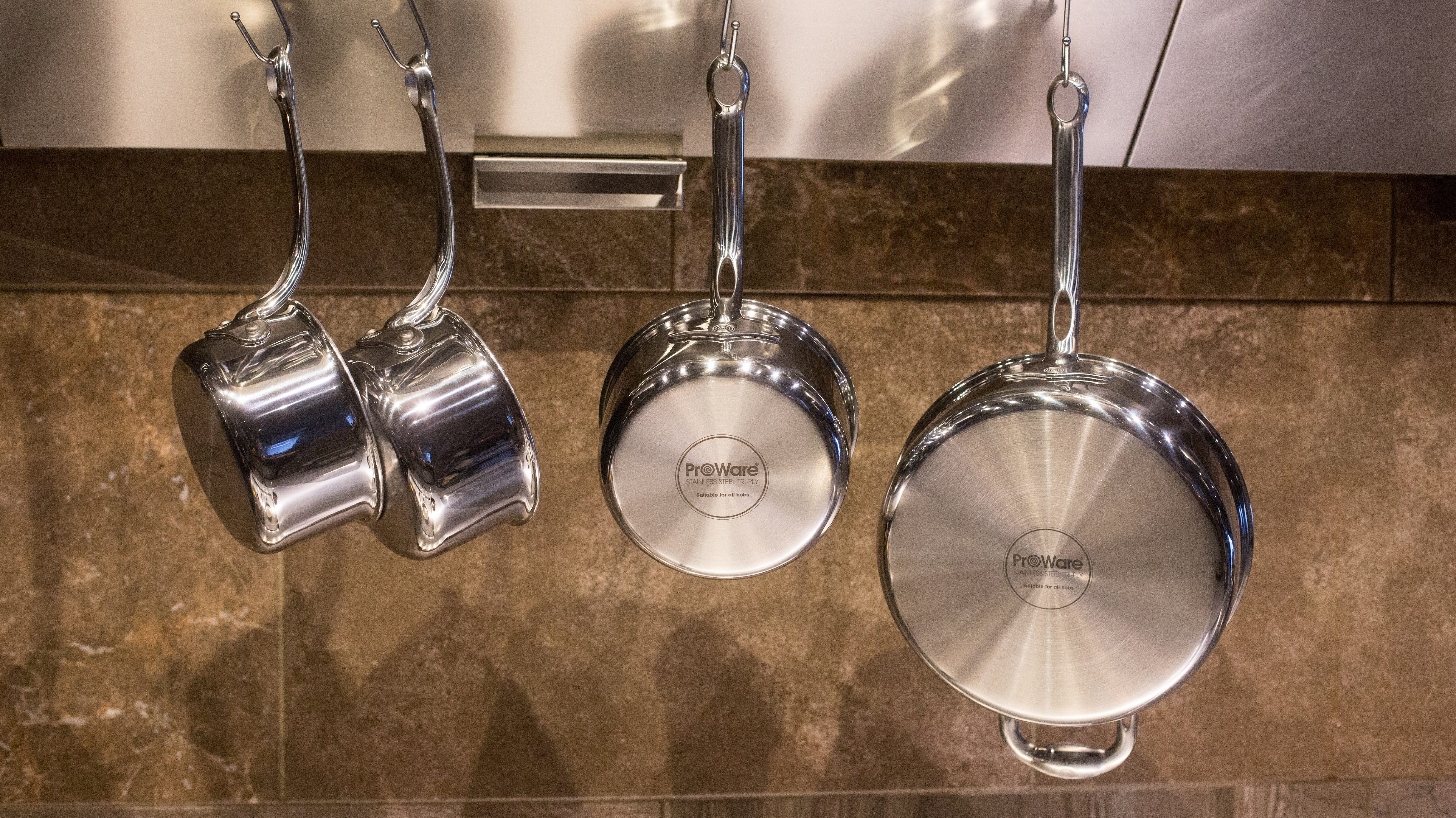 ProWare Stainless Steel Tri-Ply Hanging
