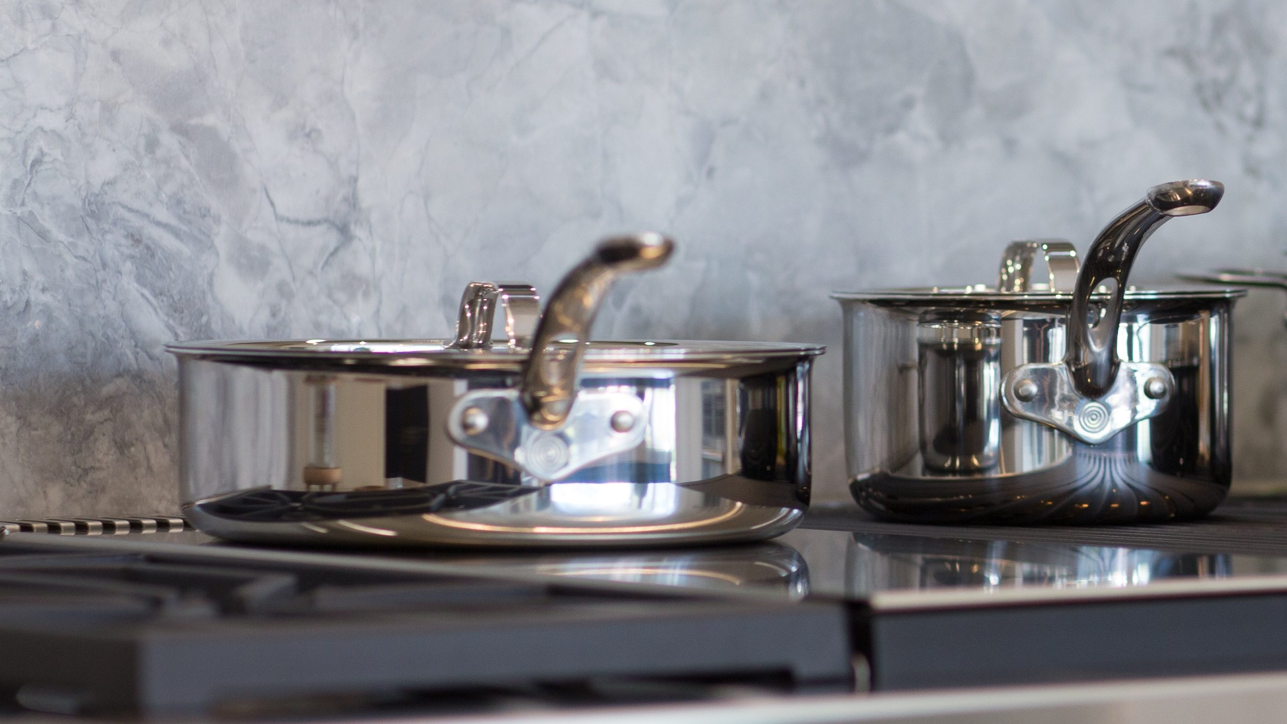 ProWare Stainless Steel Tri-Ply Hob