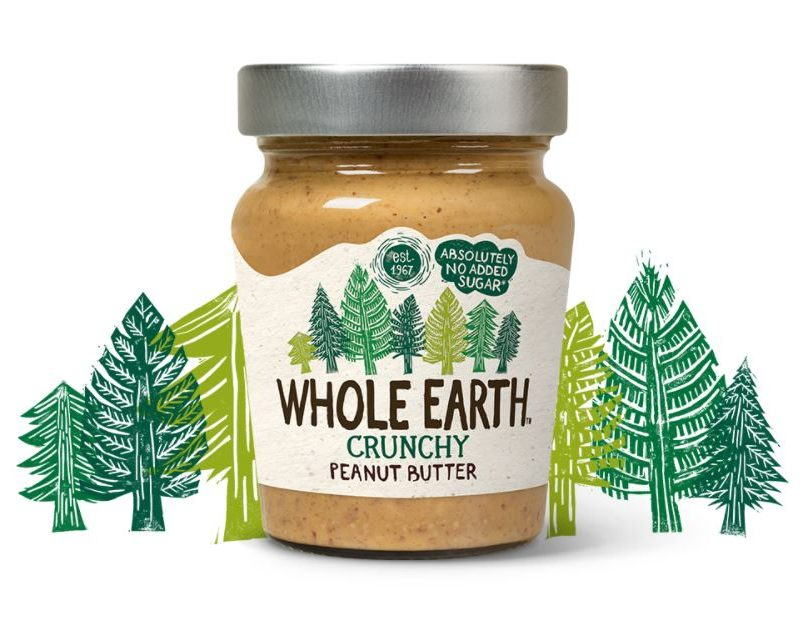 Whole Earth Peanut Butter