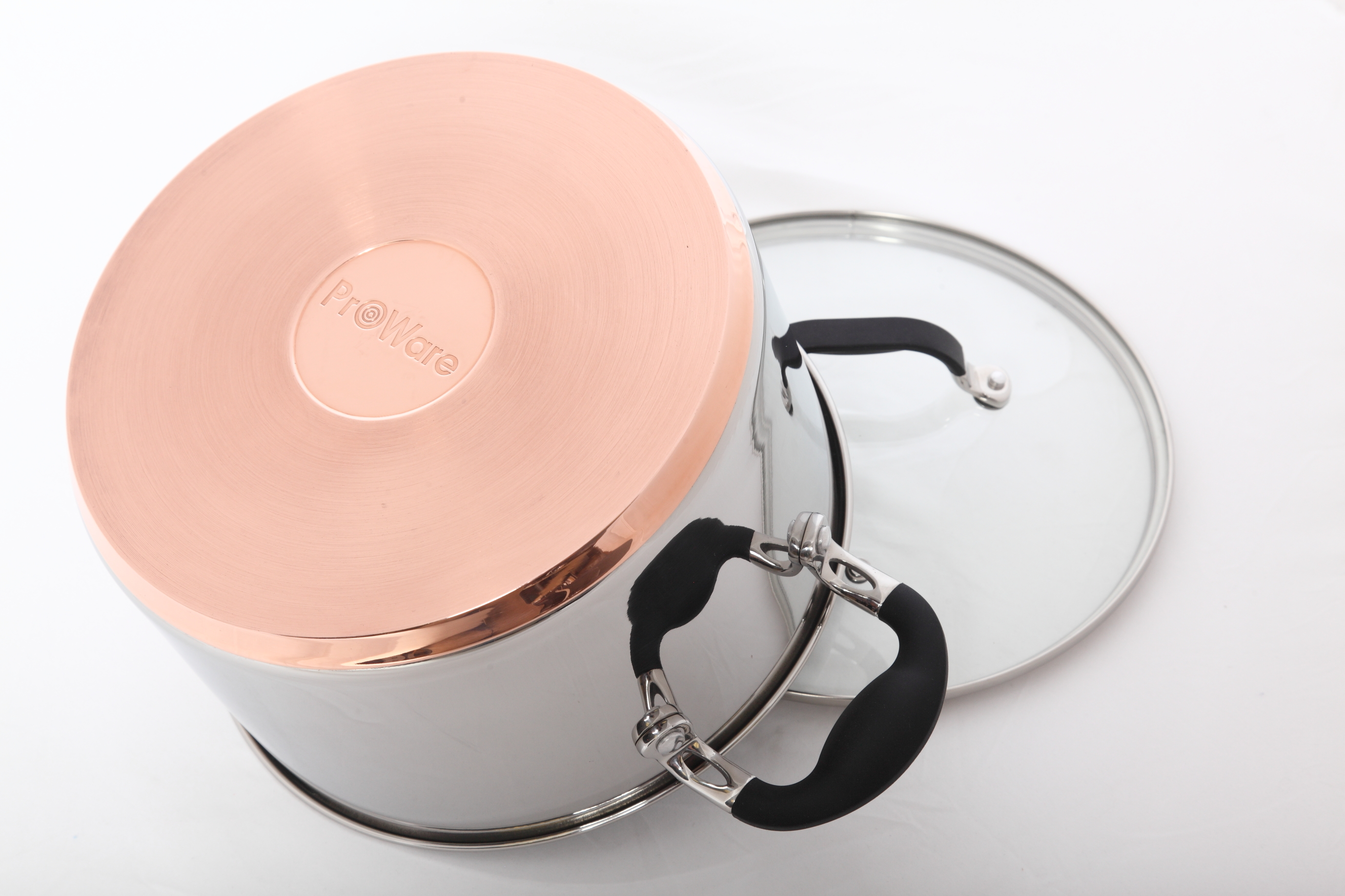 ProWare Copper Base Stockpot