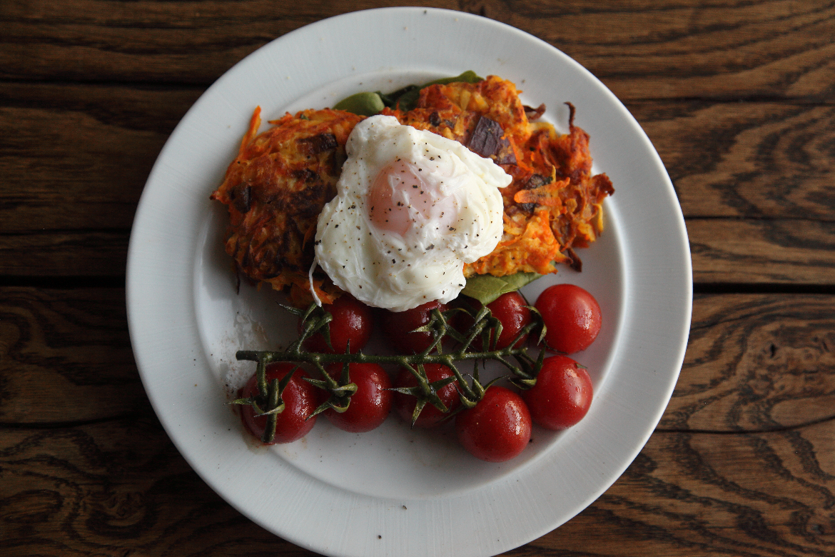 Root Veggie Rosti Competition Winner