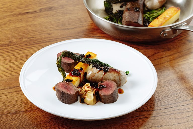 ProWare Kitchen Venison Saddle Recipe Great British Chefs