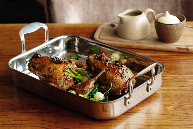 ProWare Kitchen Mallard recipe Great British Chefs