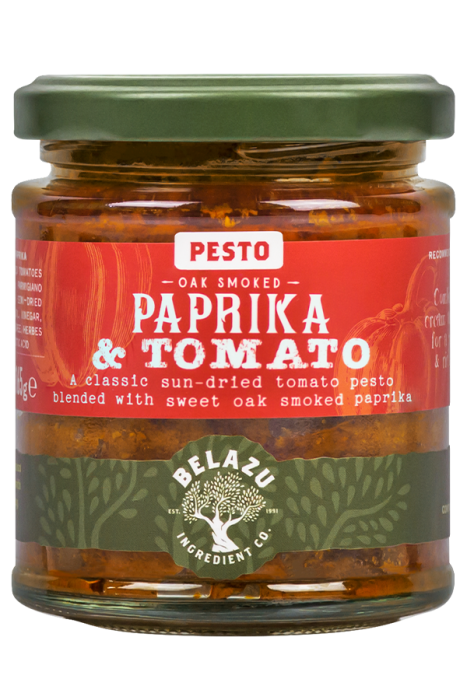 Belazu Oak Smoked Paprika and Tomato Pesto